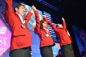 Second Place Winners at SkillsUSA!