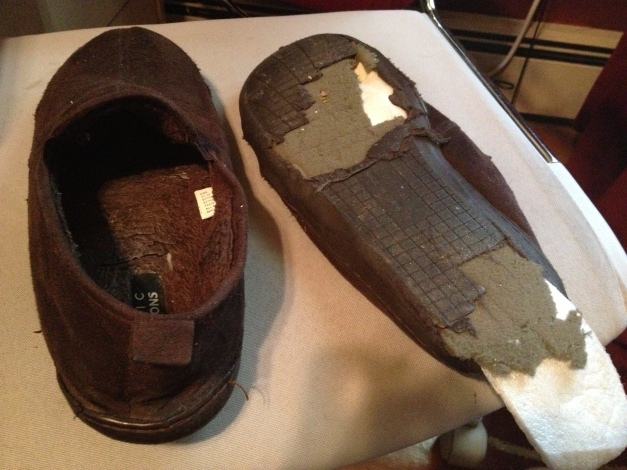 Time For New Slippers?