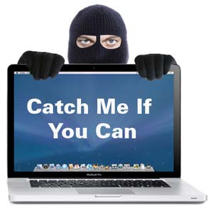 It only takes one second for a laptop to be stolen. If you leave it, you might lose it.