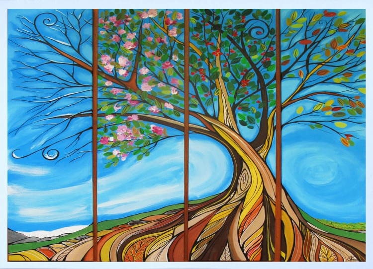 card_4_seasons_tree