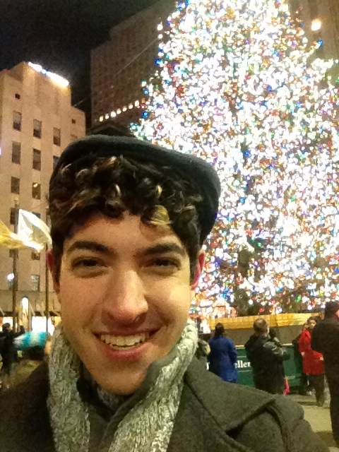 I went to see the Christmas Tree in NYC last night with a few friends!