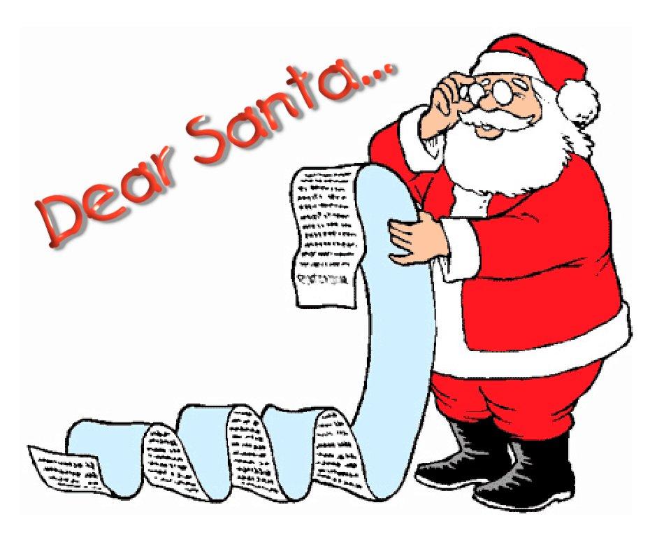 Santa-wish-list