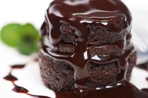 Warm-chocolate-cake