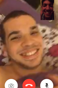 FaceTime with Manny