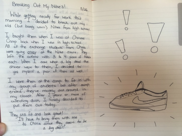 Nikes are Popular Among Chinese Students