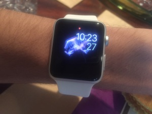 My White Apple Watch Sport