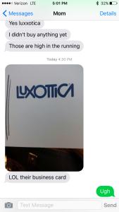 Luxottica's Monopoly
