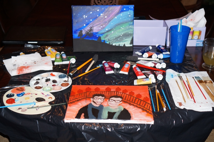 The Starry Night Sky Painting
