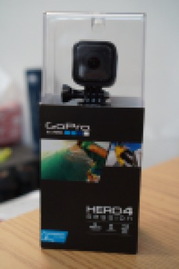 My new GoPro Session