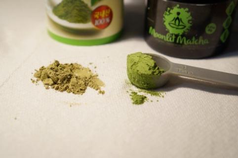 Moonlit Matcha Tea Up Close