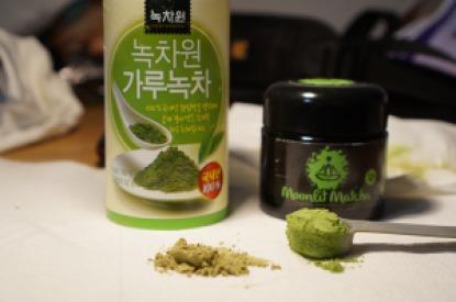 Comparing Moonlit Matcha Green Tea
