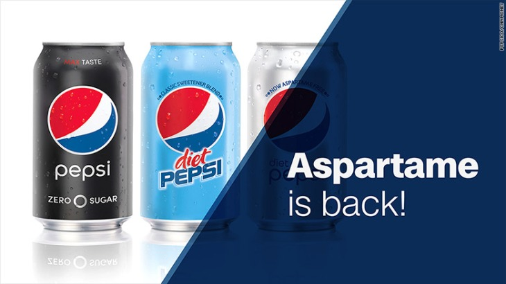 Aspartame is Back