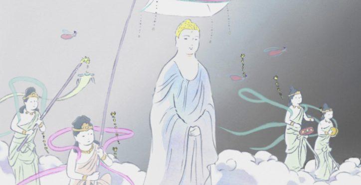 buddha celestial procession kaguya