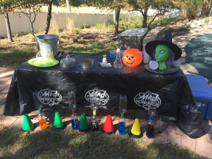 Outdoor Mad Science Party